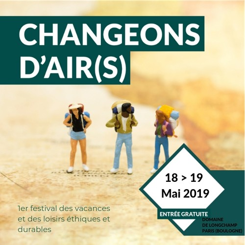 Festival Changeons d'Air(s) : Exposez sur le Village des voy ...