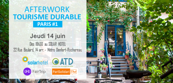 AFTERWORK TOURISME DURABLE - PARIS Image 1