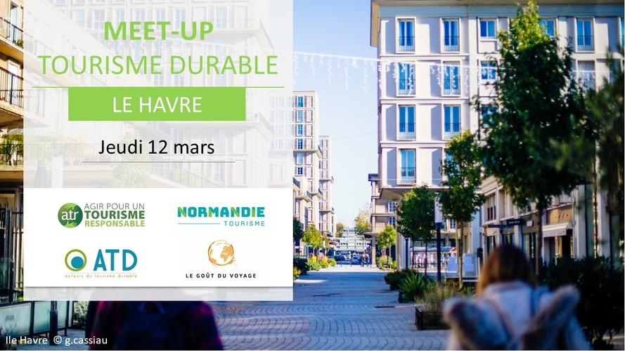 MEET-UP TOURISME DURABLE - LE HAVRE