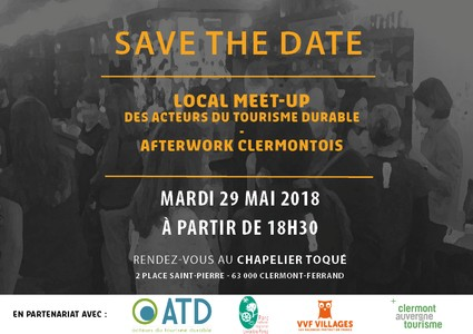 Meet-up local clermontois, 1er afterwork du tourisme durable ... Image 1